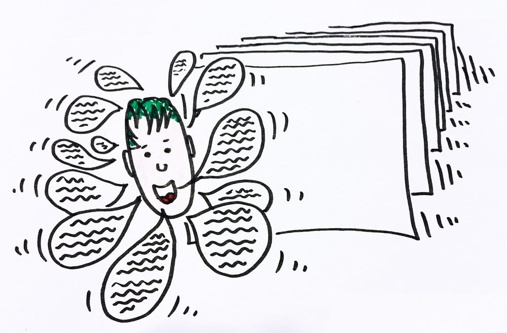 Was sind Sketchnotes? Wie hilft Sketchnoting beim Vortrag? Antworten, Tipps & Tricks gibts beim Sketchnotes Workshop!