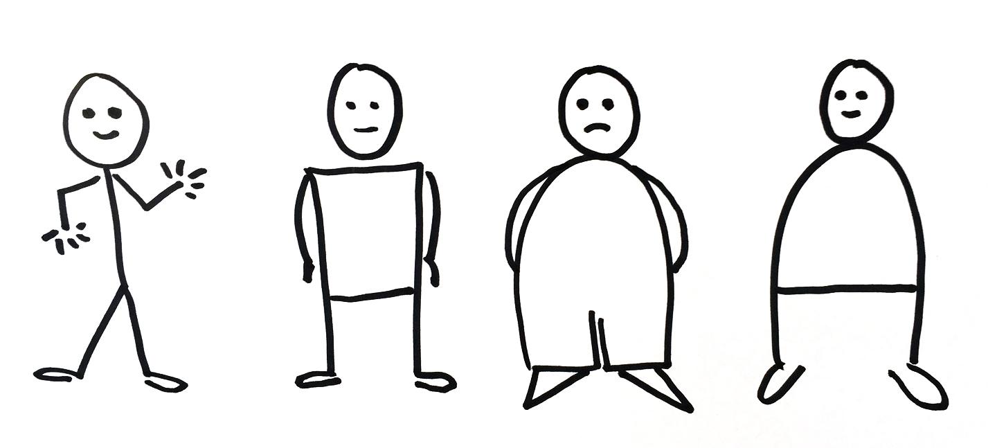 Sketchnotes Tipps: So visualisieren Sie Menschen