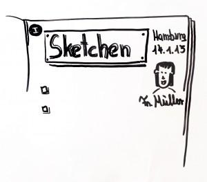 Sketchnotes kennt man zB von Mike Rohde, aber auch Sie haben das Talent zum visuellen Protokollieren!